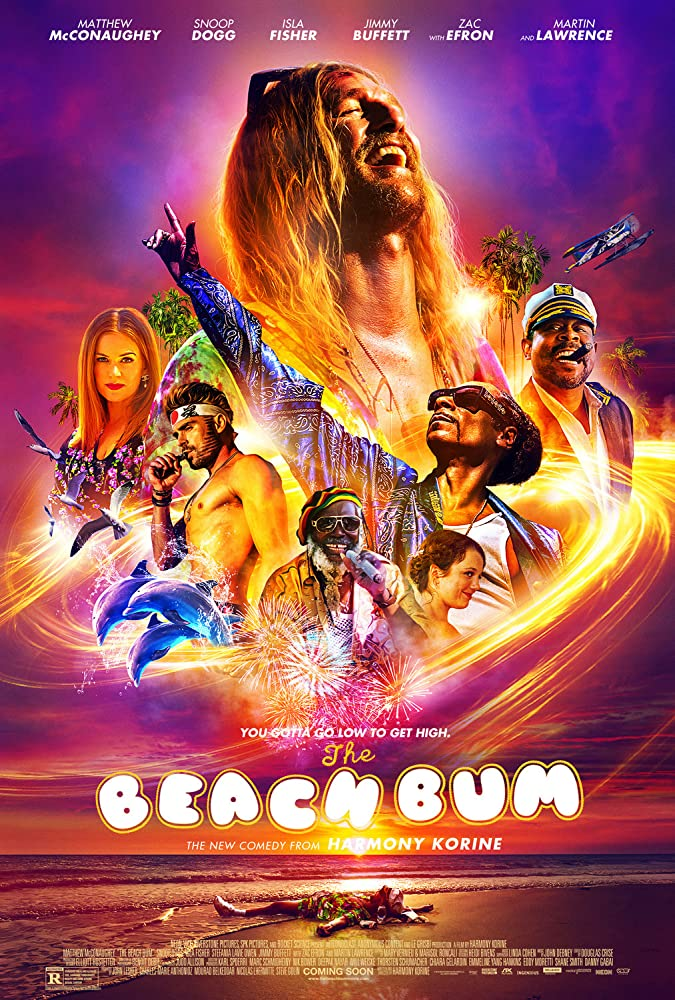 Matthew McConaughey, Martin Lawrence, Snoop Dogg, Isla Fisher, Donovan St V. Williams, Zac Efron, and Stefania LaVie Owen in The Beach Bum (2019)