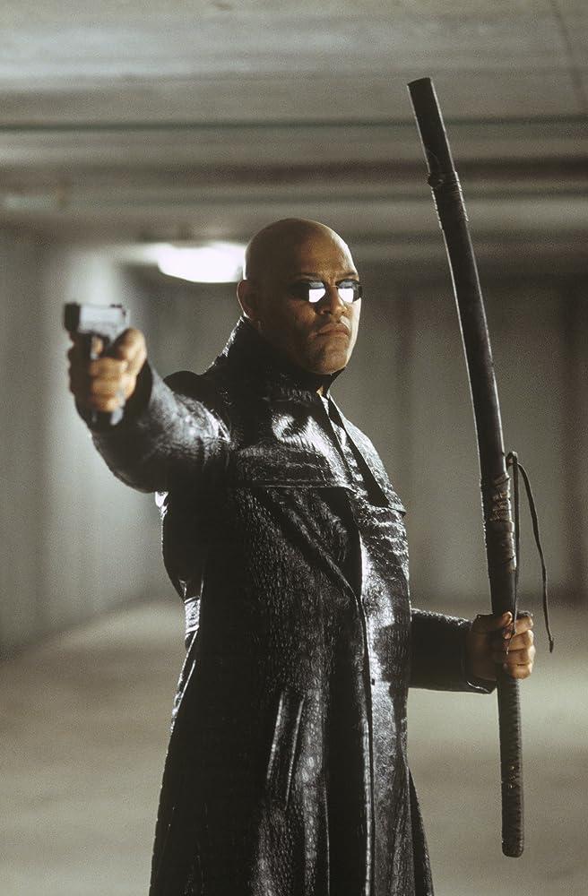 Laurence Fishburne in The Matrix Reloaded (2003)