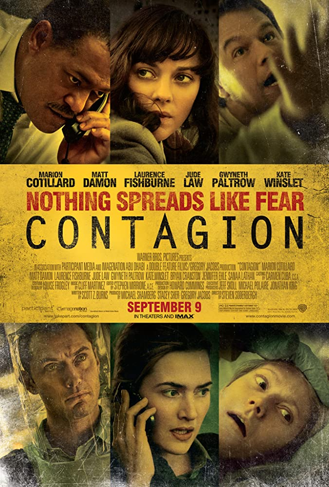 View Contagion (2011) Movie poster on IndoXX1