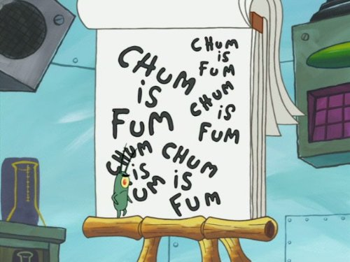spongebob squarepants chum bucket supreme single cell anniversary
