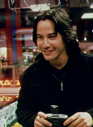 Keanu Reeves stars as Griffin