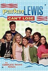 Corin Nemec, Abraham Benrubi, Maia Brewton, Melanie Chartoff, Jennifer Guthrie, Billy Jayne, and Troy W. Slaten in Parker Lewis Can't Lose (1990)