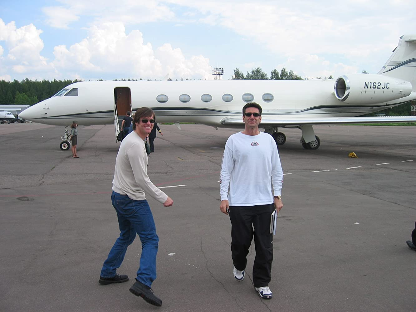 Image result for jim carrey private jet