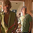 Robert Downey Jr. and Woody Harrelson in A Scanner Darkly (2006)
