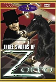 Sword of Zorro Poster