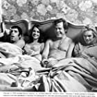 Natalie Wood, Dyan Cannon, Elliott Gould, and Robert Culp in Bob & Carol & Ted & Alice (1969)