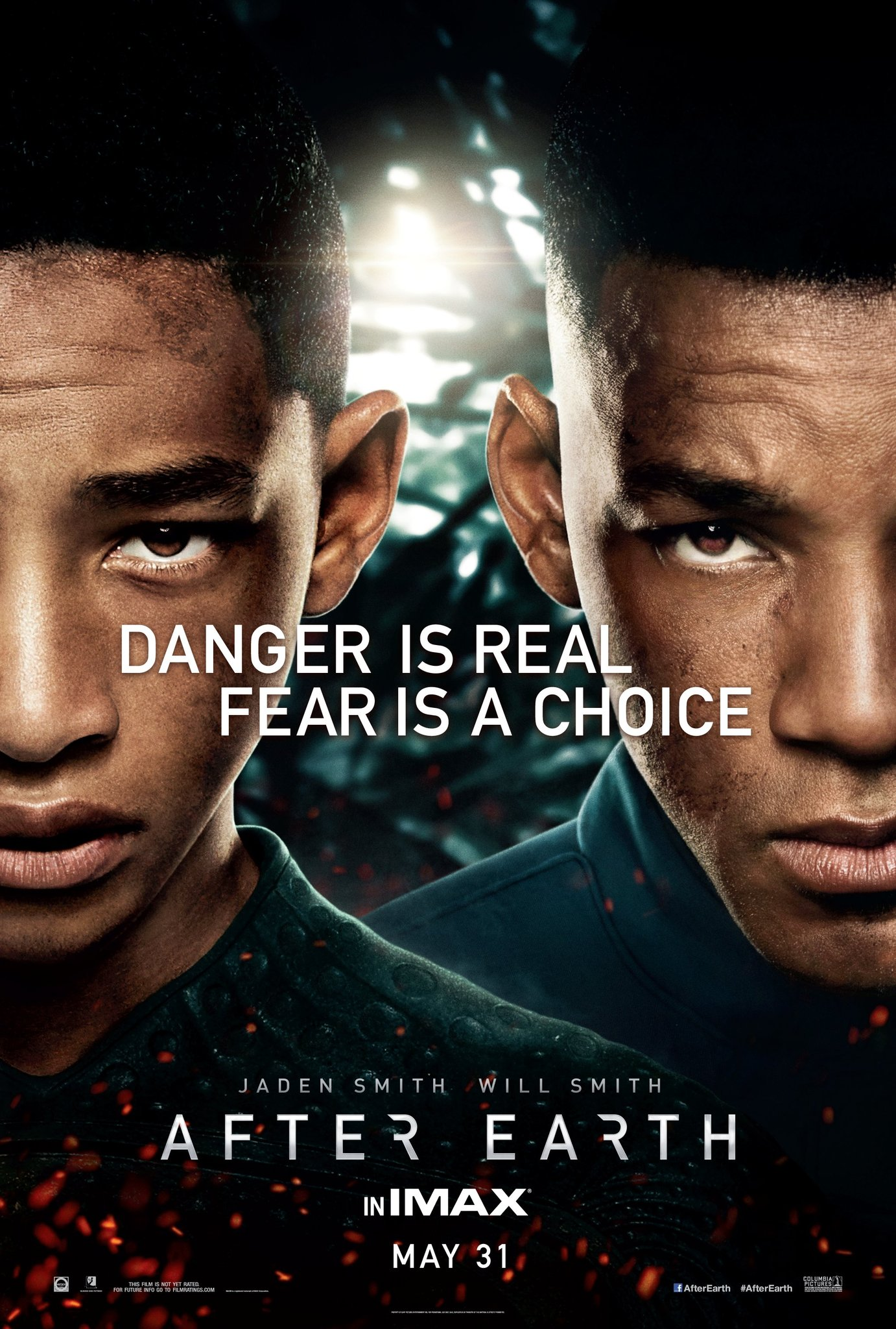 After Earth 2013 Hindi Dual Audio 350MB BluRay ESub