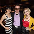 """Hanging with director, Paul Bunnell & actress/filmmaker, Avital Ash at Dances with Films screening of """"The Ghastly Love of Johnny X"""""""
