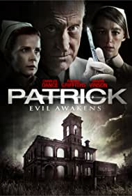 Charles Dance, Martin Crewes, Rachel Griffiths, Eliza Taylor, and Sharni Vinson in Patrick (2013)