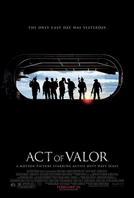[R] Act of Valor (2012) Dual Audio Blu-Ray - 480P | 720P - x264 - 350MB | 800MB - Download & Watch Online  Movie Poster - mlsbd