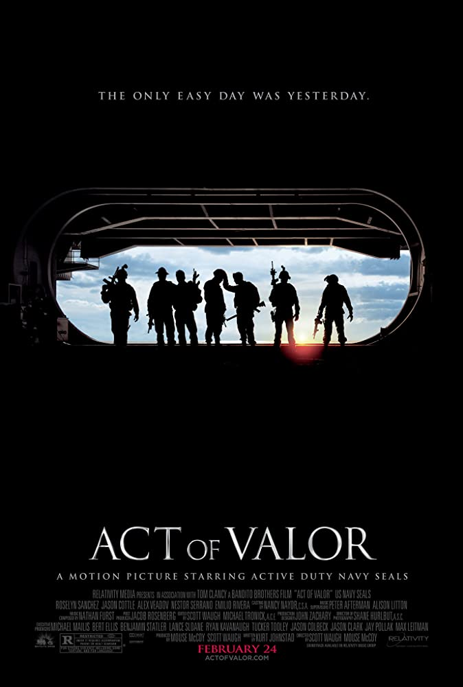 Poster film Act of Valor (2012)
