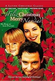 Feliz Christmas, Merry Navidad Poster