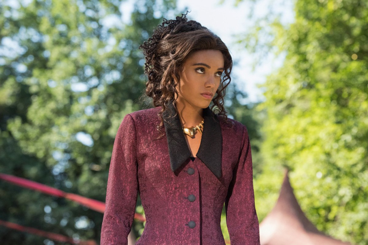 Maisie Richardson-Sellers in Legends of Tomorrow (2016)