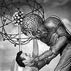 Regis Parton and Rex Reason in This Island Earth (1955)