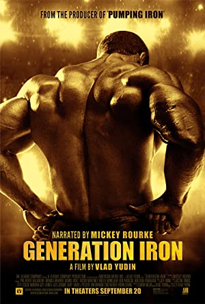 Generation Iron film Poster