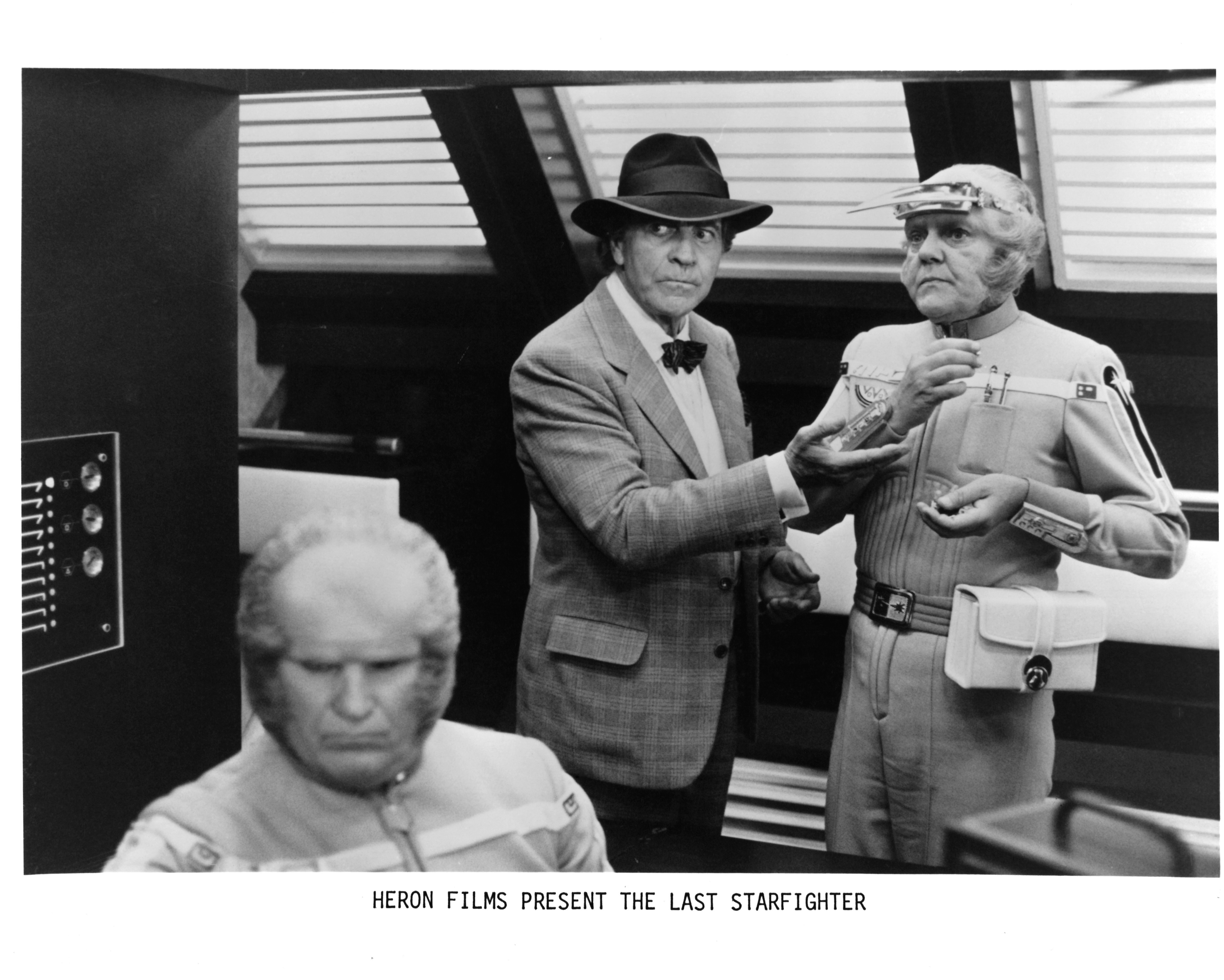 John O'Leary and Robert Preston in The Last Starfighter (1984)