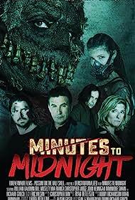 William Baldwin, Dominique Swain, Richard Grieco, Christopher Judge, Bill Moseley, John Hennigan, Mercy Malick, and Viva Bianca in Minutes to Midnight (2018)
