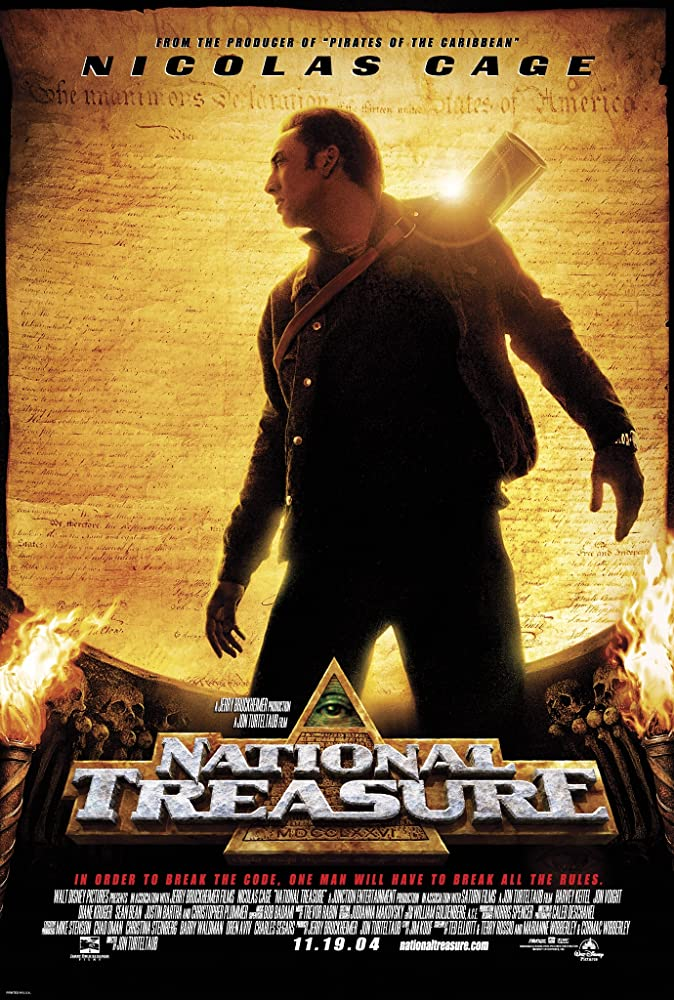 National Treasure 2004 Hindi Dual Audio 400MB BluRay Download