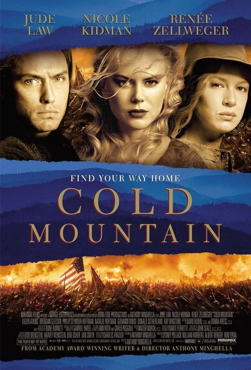 Cold Mountain (2003) BluRay 480p, 720p & 1080p