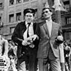 Bonar Colleano and Anthony Newley in The Man Inside (1958)