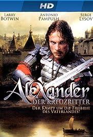 Aleksandr. Nevskaya bitva Poster