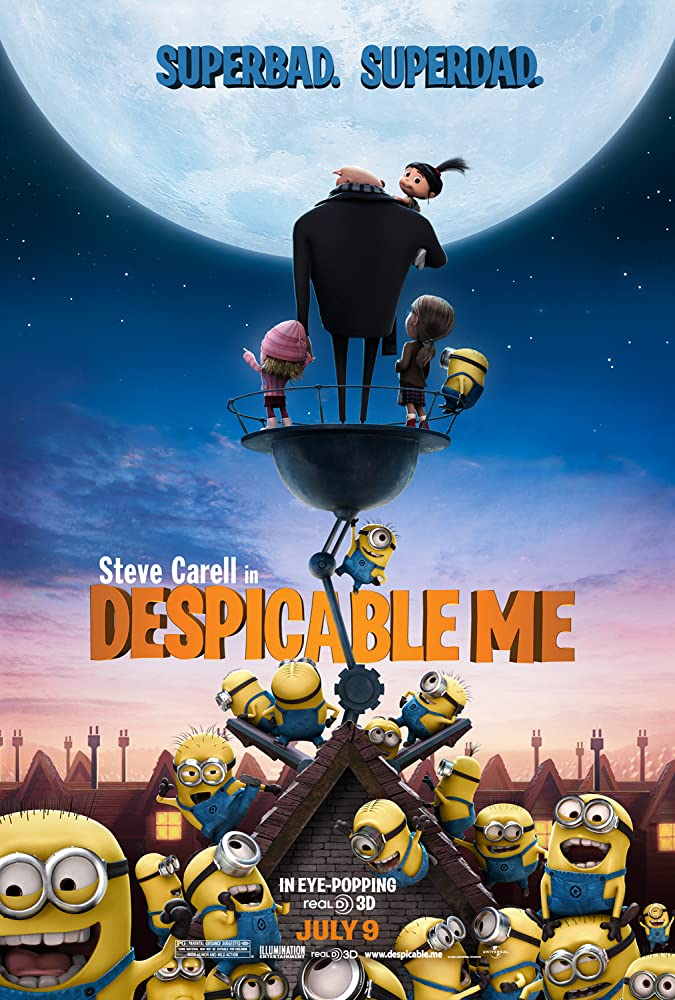 Despicable Me (2010) Hindi Dubbed