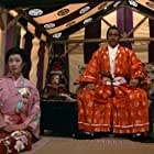 Toshirô Mifune and Yôko Shimada in Shogun (1980)