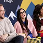 Demi Moore, Jessica Williams, and Patrick Brice at an event for The IMDb Studio at Sundance (2015)