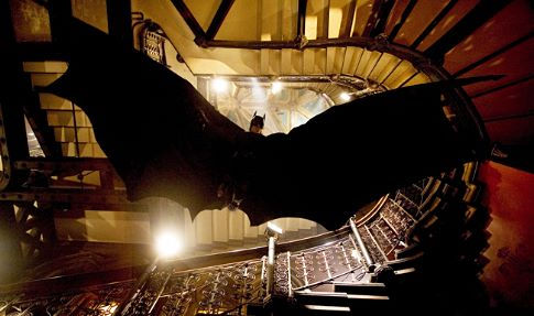Christian Bale in Batman Begins (2005)