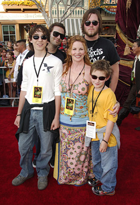 Family photo of the actress &  director, married to Timothy Busfield ,  famous for Little House on the Prairie.