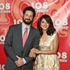 David Rountree and Rosie Garcia at an event for 108 Stitches (2014)