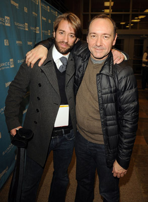 Kevin Spacey and Jonas Pate
