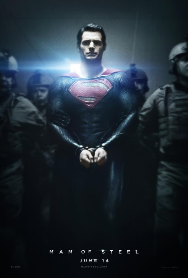 Poster of Man of Steel 2013 BluRay 720p Dual Audio In Hindi English