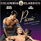 William Holden and Kim Novak in Picnic (1955)