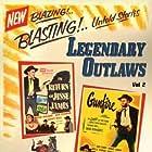 Ann Dvorak, Reed Hadley, and John Ireland in The Return of Jesse James (1950)