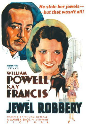 William Powell and Kay Francis in Jewel Robbery (1932)