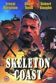 Ernest Borgnine, Oliver Reed, and Robert Vaughn in Skeleton Coast (1988)