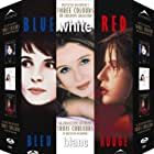 Juliette Binoche, Julie Delpy, and Irène Jacob in Trois couleurs: Bleu (1993)
