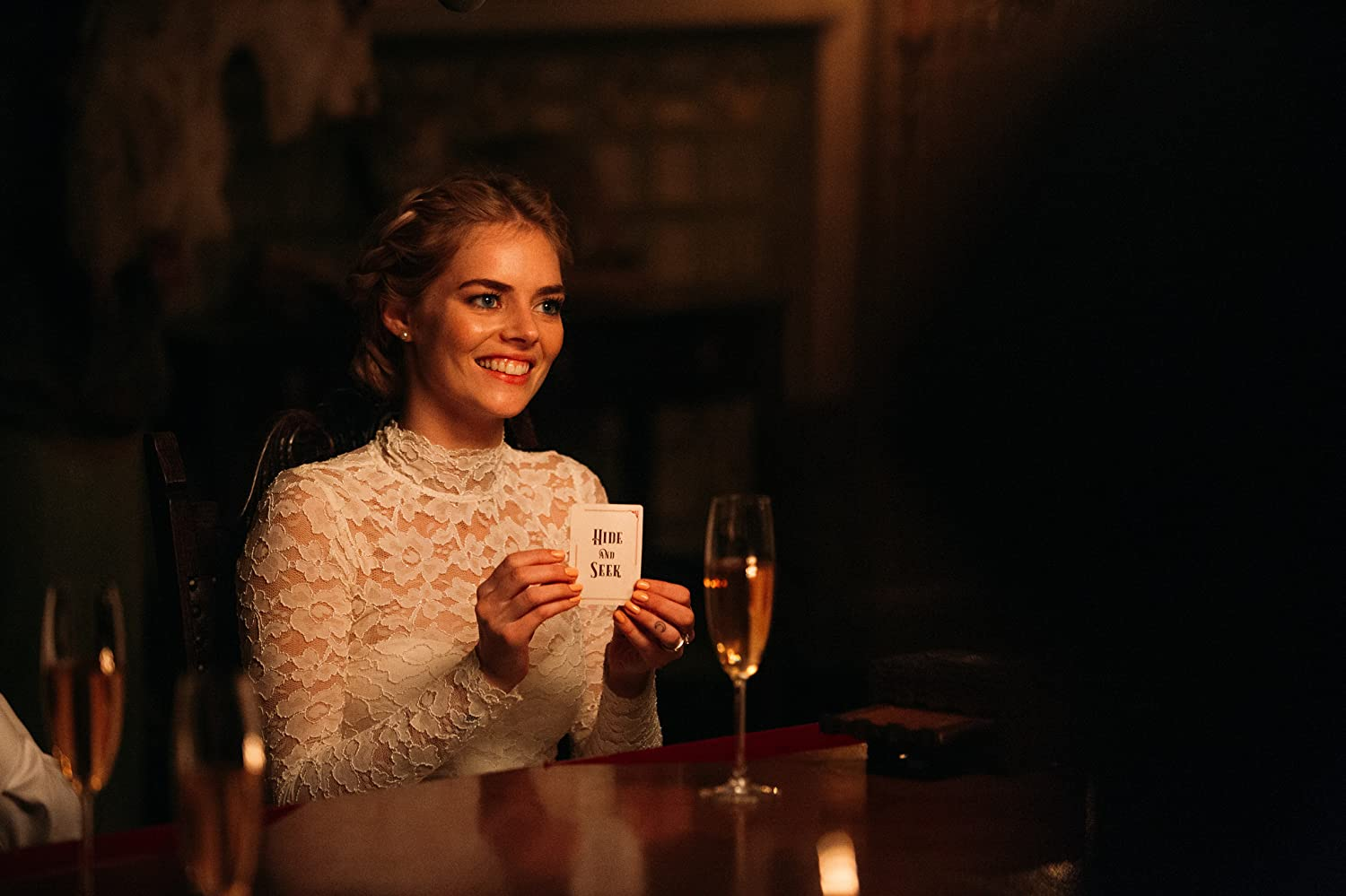 Samara Weaving in Ready or Not (2019)
