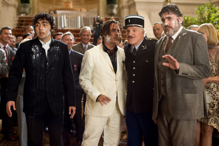 Steve Martin, Andy Garcia, Alfred Molina, and Yuki Matsuzaki in The Pink Panther 2 (2009)
