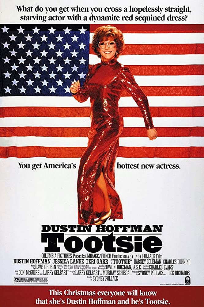 Tootsie comedy movie poster