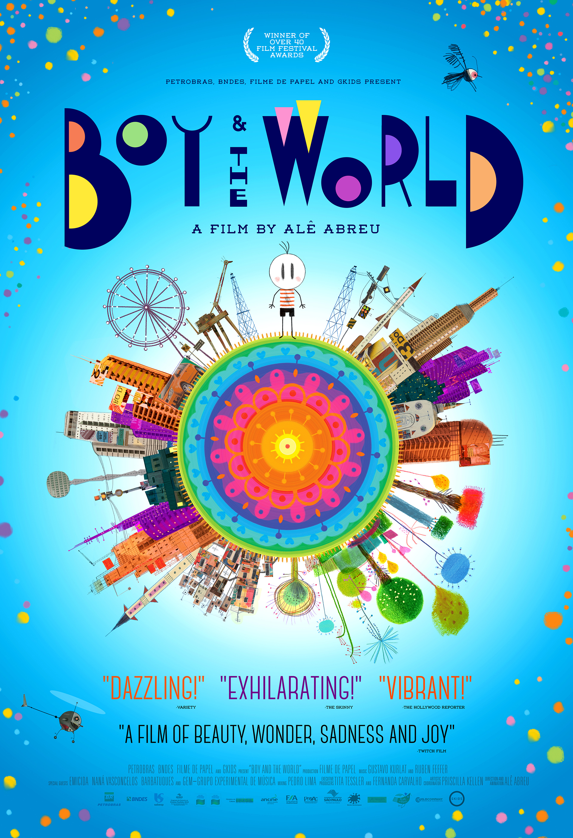 Boy and the World (2013) BluRay 720p & 1080p