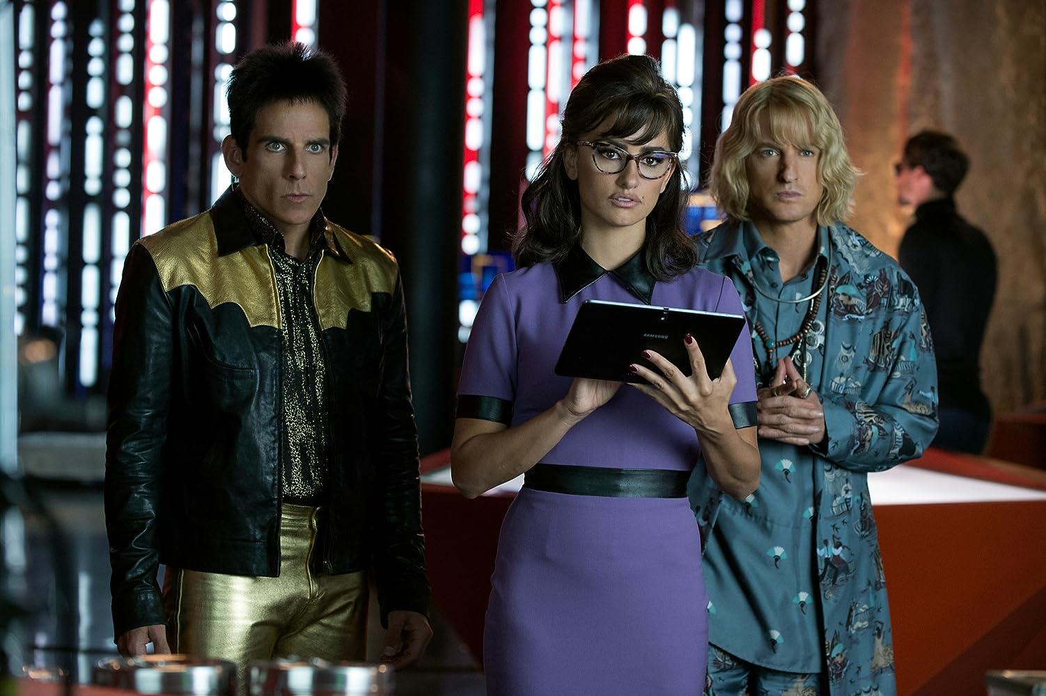 Ben Stiller, Penélope Cruz, and Owen Wilson in Zoolander 2 (2016)