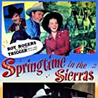 Roy Rogers, Stephanie Bachelor, Roy Barcroft, Andy Devine, and Jane Frazee in Springtime in the Sierras (1947)