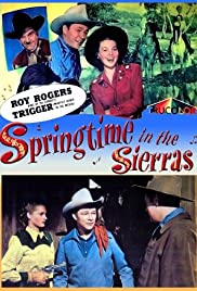 Springtime in the Sierras Poster