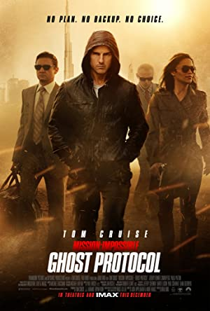 poster Mission: Impossible - Protocollo fantasma