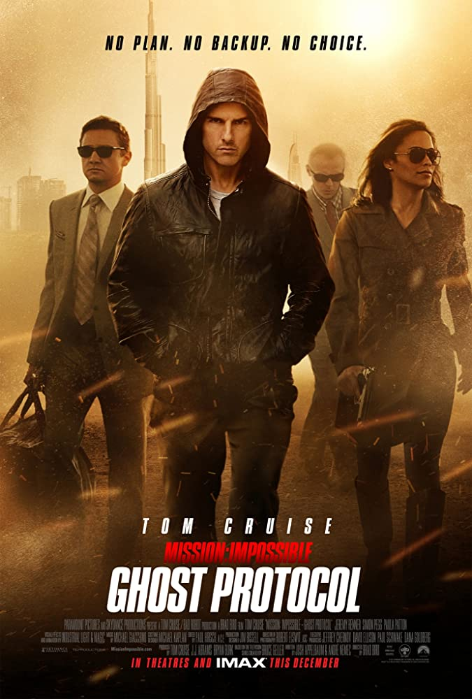 Mission Impossible: Ghost Protocol 2011 Dual Audio Hindi 400MB BluRay 480p Download