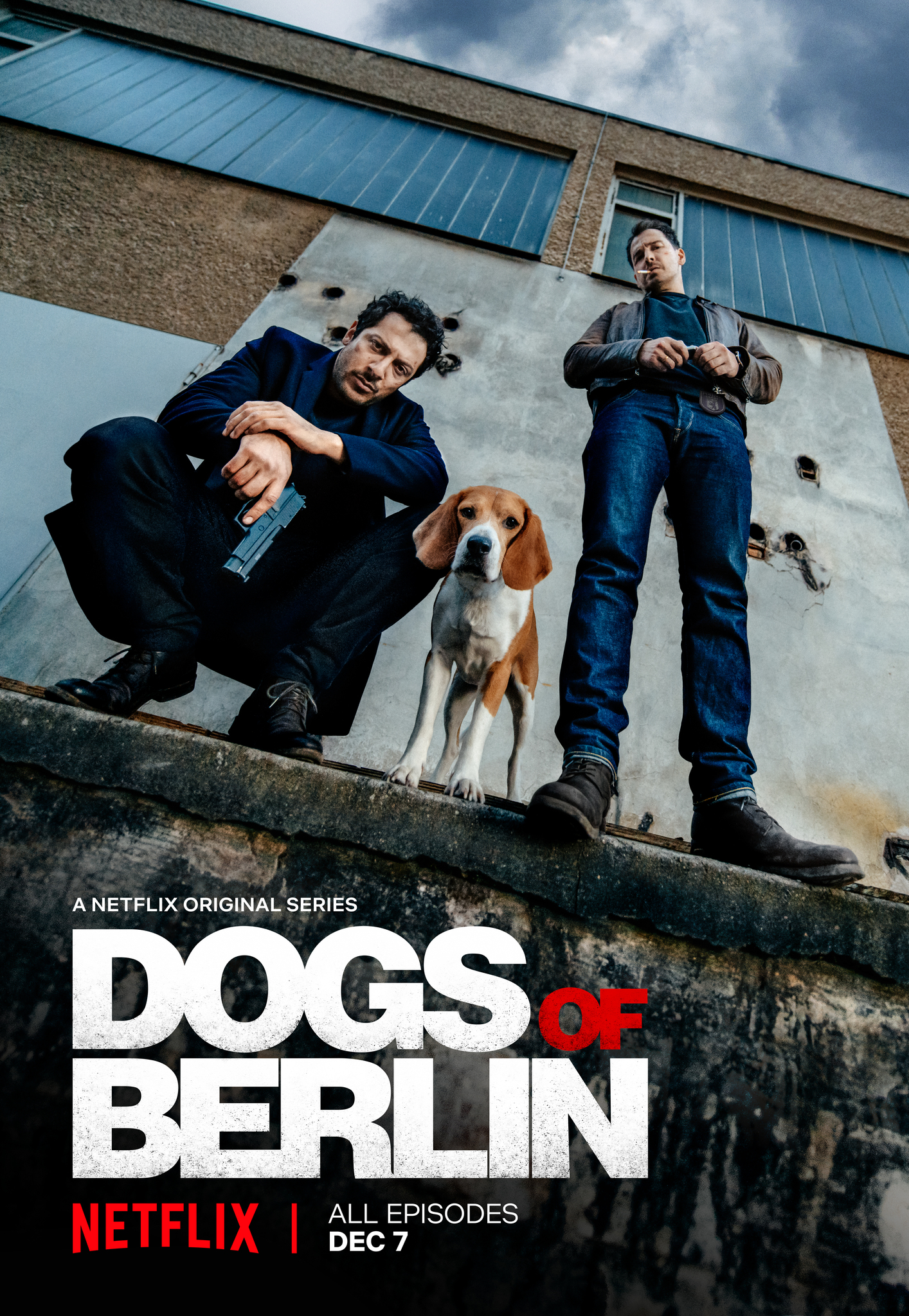 Berlyno šunys (1 Sezonas) / Dogs of Berlin Season 1