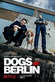 Felix Kramer and Fahri Yardim in Dogs of Berlin (2018)