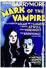 Bela Lugosi and Carroll Borland in Mark of the Vampire (1935)